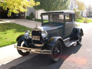 Completely Original November 1928 Special Coupe!