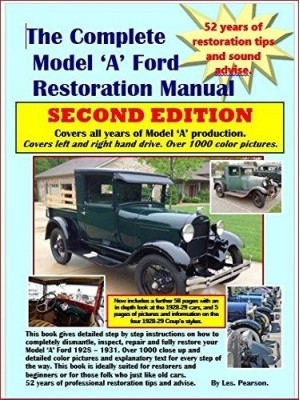 A-99013-A  Complete Model A Restoration Manual