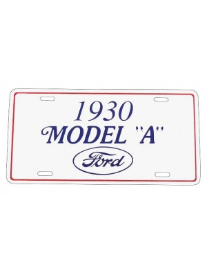 A-13405C 1930 License Plate Plaque