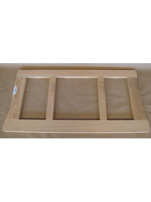 A-82519 1928-1929 60A and 60B Leather Back Briggs 4 Door Rear Seat Cushion Wood Frame