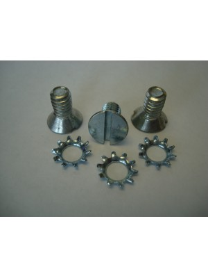 A-48110    Screw Set for 3-Hole Window Regulator - One Set Does One Regulator - Set of 3 Screws and 3 Washers