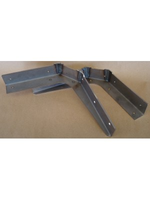 A-55090-B    1928-1929 Closed Cab Pickup Lower Door Post Brace - Sold in Pairs.
