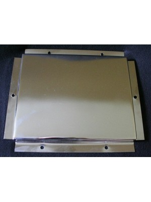 A-55023-S    Polished Stainless Steel Pickup Center Plate