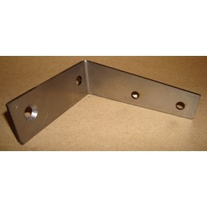 A-70161    1928-1928 Coupe Right Rear Back Bow To Side Rail Support Bracket - Each - USA Made!