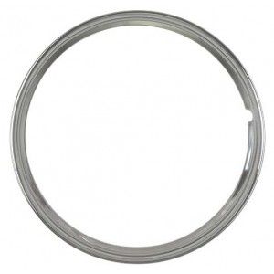 A-1133-A  Stainless Steel Trim Ring for 16 inch wheels- Smooth