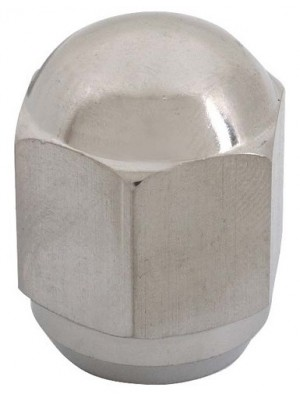 A-1012-SS  Polished Stainless Steel USA  made Lug Nut