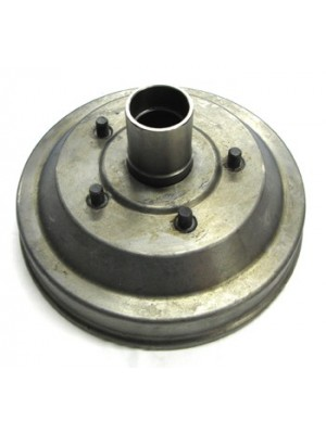 A-1127  Brake Drum Front & New Hub - Assembled
