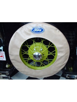 A-1396-T  Tire Cover 19 inch Tan