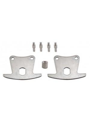 A-2011-C  Brake Roller Track Front w/rivets Set