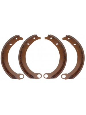 A-2515 NEW 1939-1941 Brake Shoes- Set of 4