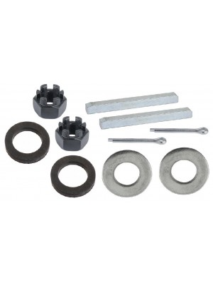 A-4241  Rear Axle Nut, Washer,Key, Seal Set- 2 of each