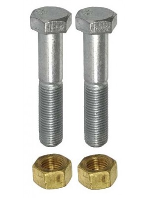 A-5251-AS  Muffler Clamp Bolts with Brass Nuts 1928-29