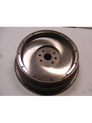 A-6385  Rebuilt Flywheel- Cleaned, resurfaced, with new  ring gear