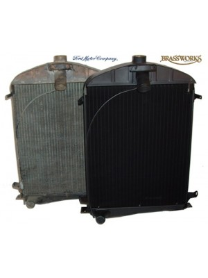 A-8005-B  New Flat Tube Radiator 30-31
