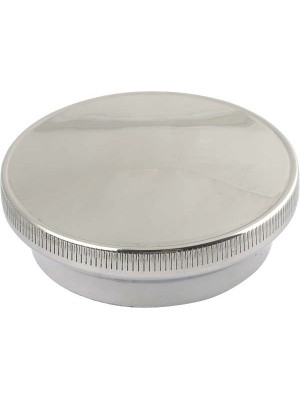 A-8100-B  Radiator Cap -Stainless - 30-31