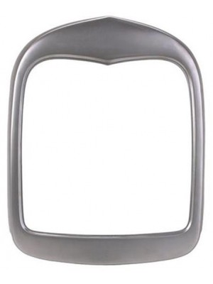 A-8208-F  Grille Shell - 1928-29 Smoothie Plain Steel - No hole for radiator cap, emblem, or headlight and horn wires
