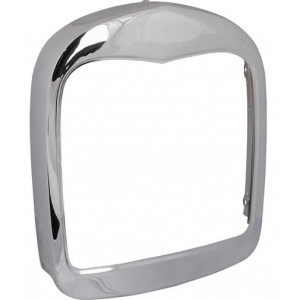A-8208-G  Grille Shell - 1928-29 Smoothie For street Rods- Chrome Plated- Has no hole for radiator cap, emblem, or wires