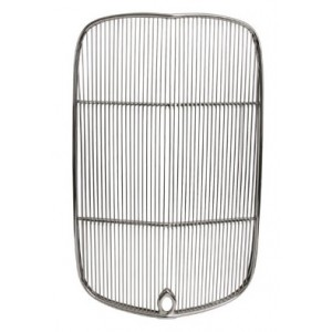 A-8208-K  1932 Grille Shell Insert WITH stock crank hole- All stainless steel