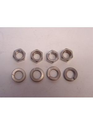 A-8509  Set of 4 mounting nuts and lockwashers to attach the water pump to the cylinder head