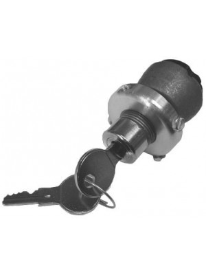 A-11575-H  Popout Look a like key switch - with Accesory terminal for radios and other accesories