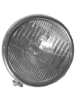 A-13001-S  Headlights 2 Bulb Stainless Pair 1928-29