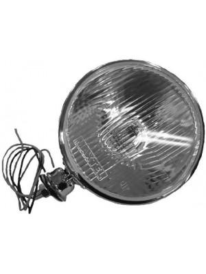 A-13006- D  Dietz Headlights - chrome plated w/12V lights