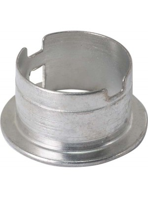 A-13120  Headlight Socket Holder- Round metal socket holder fits between the headlight base plate and the headlight shell- holds the wiring socket in place- 1929-1931
