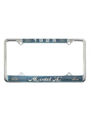 A-13406-FB  License Plate Frames - Pair 1929