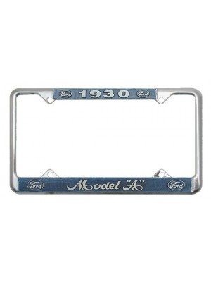A-13406-FC  License Plate Frames - Pair 1930