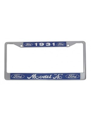 A-13406-FD License Plate Frames -Pair 1931