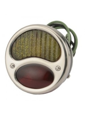 A-13407-SR  Tail Light - Stainless Steel - Right