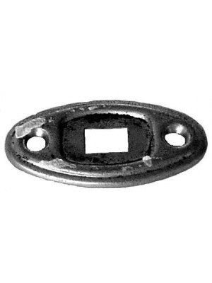 A-13770  Dome Light Switch Plate- Nickle