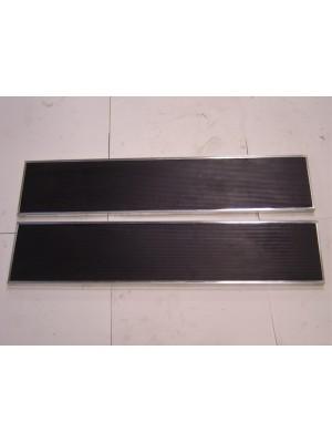 A-16410-A Runningboards with Zinc Trim - 1928-29
