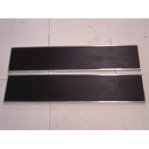 A-16410-AS  Runningboards with Stainless Steel Trim-1928-29