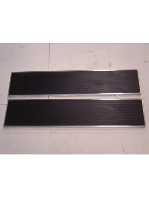 A-16410-AS  Running Boards With Stainless Steel Trim-1928-29