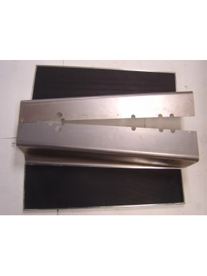 A-16420-BS  Running Boards/Aprons- Stainless Steel Trim- Pair- 1930