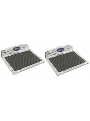 A-16465  Running Board Step Plates - Deluxe - Pair