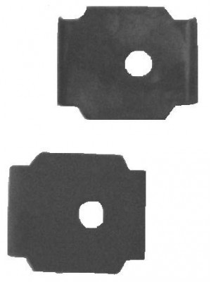 A-17591  Elec. Wiper Rubber Boot Metal Covers
