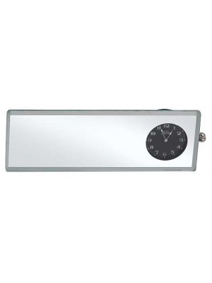 A-17709  Mirror Glass with clock-