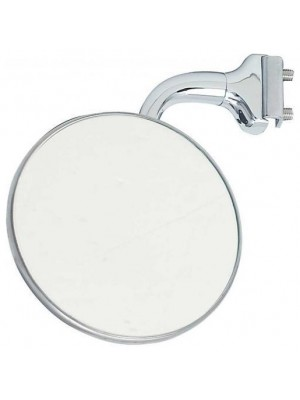 "A-17712-A  4"" Curved Arm Peep Mirror -Left or Right"