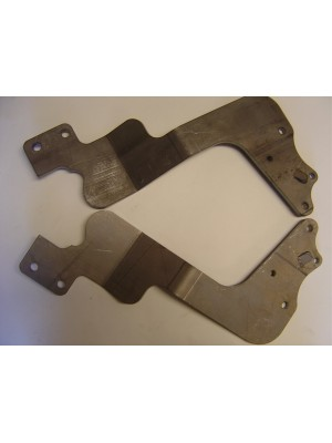 A-18080-D Rear Luggage Rack Brackets-sedans