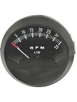 """A-18109-B   12 Volt 2 1/16"""" Tachometer"""