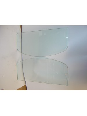 A-18204-E  Etched Windwing Glass-28-9 Closed Cars
