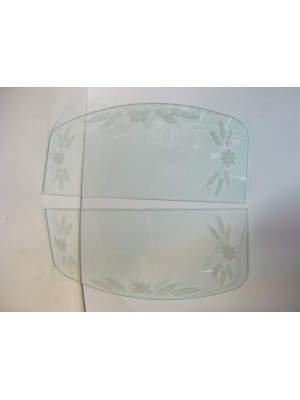 A-18205-E  Etched Windwing Glass-30 1 Closed Cars