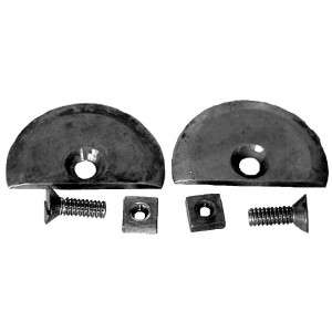 A-41506-T  Aligning Plates For Cars With Trunk- Rounded