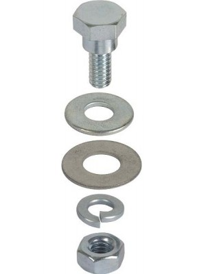 A-41530-MB  Trunk Lid Support Bracket bolt- mounts to rain gutter inside the trunk area- special shoulder bolt