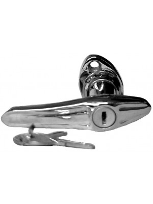 A-46118  Locking Door Handle - Chrome 1928-29