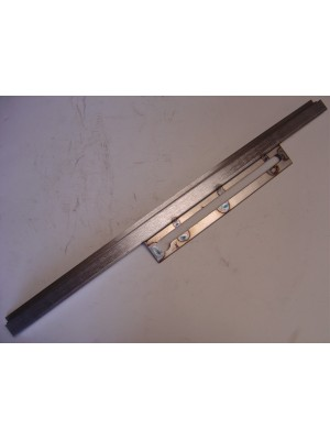 A-48121 Murray 4 door sedan door window lower glass metal channel- LF/RR- Steel- USA Made
