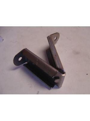 A-48141-B  Lower window stop - Inside door- all Coupes, tudors sedans, pickups and slant 4 doors- Either side
