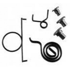 A-48539  Door Latch Spring and rivit kit- All the springs and rivits to rebuild one Swis/Toledo MFG. Door latch on 1928-1930 4 door sedans and cabriolets- Does one latch- Either LF or RR